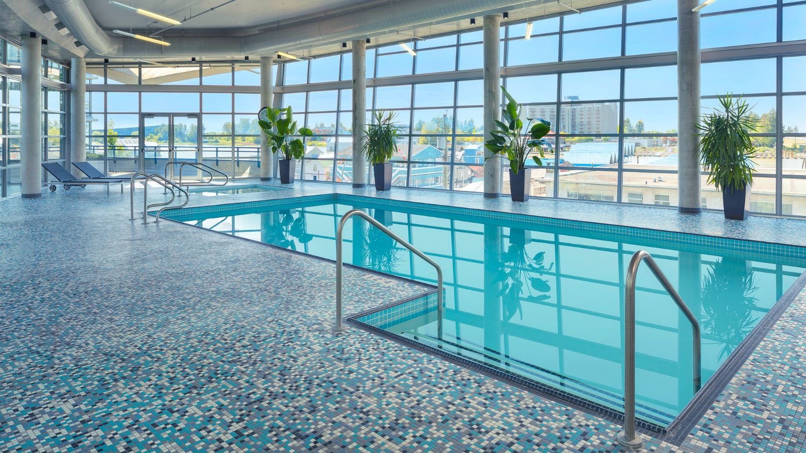 Vancouver Airport Hotel Amenities - Pool